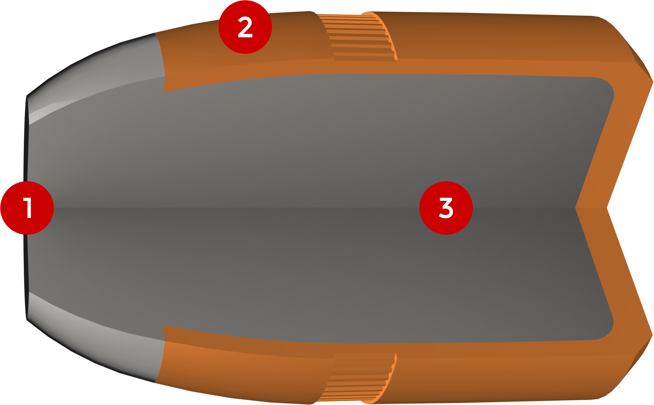 38-40 Winchester, 180 Grain Features