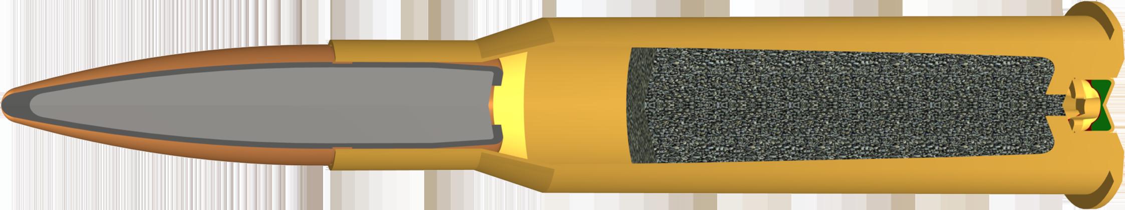 7.62 x 54R, 180 Grains Features