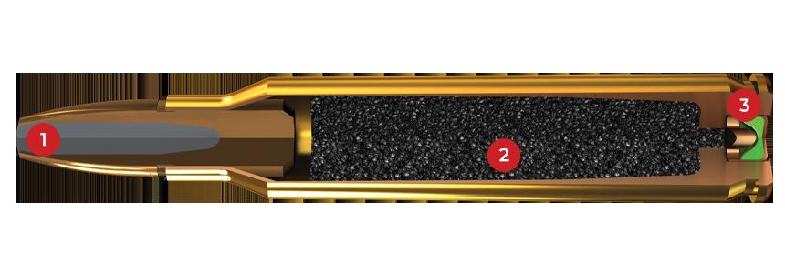 5.56mm, 64 Grain Features