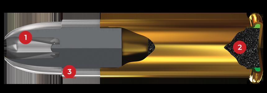 22 Long Rifle, 37 Grain Features
