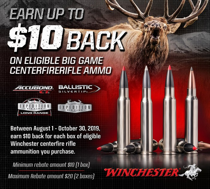 Remington Rebate Access >> Rebates For Winchester Ammo Winchester Ammunition
