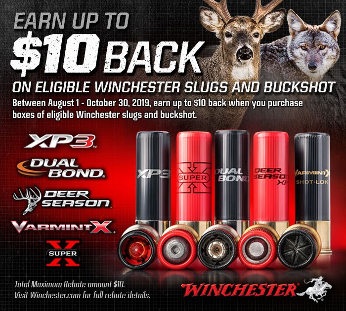 Rebates for Winchester Ammo | Winchester Ammunition
